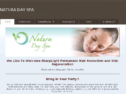 Natura Day Spa (905-628-8811) - Website thumbnail - http://www.naturadayspa.ca