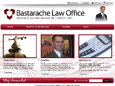 Bastarache Law Office (506-857-8882) - Website thumbnail - http://www.bastarachelaw.com