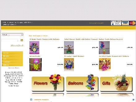 Balloon Bouquets Plus (204-339-9778) - Website thumbnail - http://www.balloonbouquetsplus.com