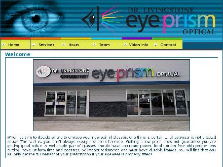 Eye Prism Optical Inc (204-254-8857) - Onglet de site Web - http://www.eyeprismoptical.com