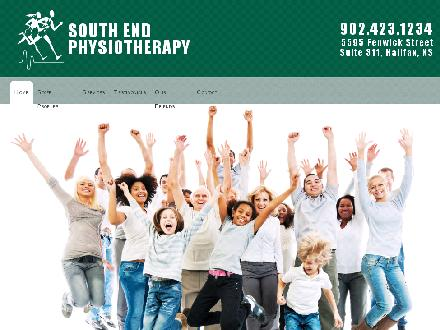 South End Physiotherapy Clinic Ltd (902-442-8539) - Website thumbnail - http://www.southendphysiotherapy.ca