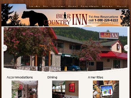 Bear Country Inn (250-635-6302) - Website thumbnail - http://www.innbc.ca