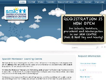 Spanish Montessori Learning Centre (403-524-3436) - Onglet de site Web - http://www.lethbridgespanishmontessori.com