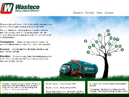 Wasteco (416-787-5000) - Onglet de site Web - http://www.wastecogroup.com