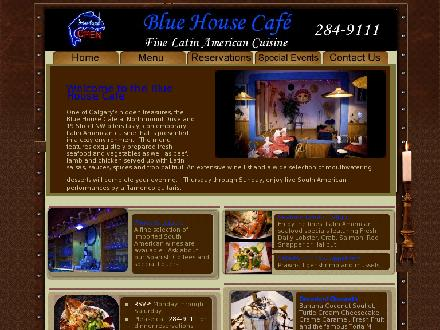 Blue House Cafe (403-284-9111) - Website thumbnail - http://www.bluehousecafe.ca