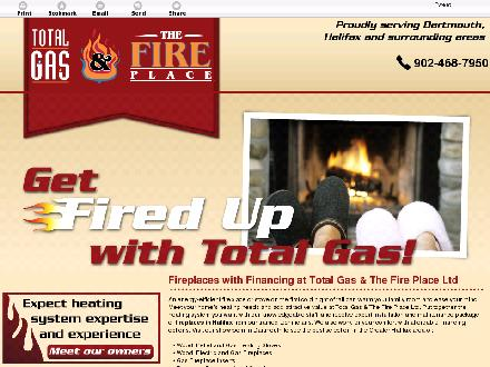 Total Gas &amp; The Fire Place Ltd (902-468-7950) - Onglet de site Web - http://totalgasandthefireplace.com