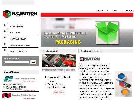 Hutton International Press (HIP) (709-701-3023) - Onglet de site Web - http://www.nchutton.com