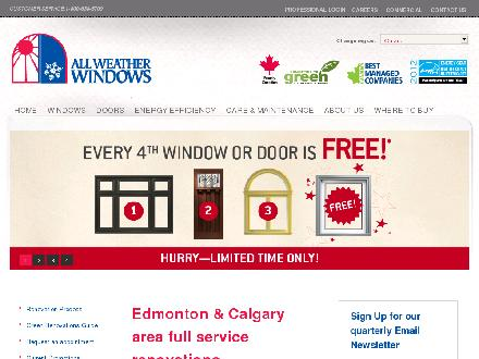 All Weather Windows Renovations (1-800-639-8747) - Onglet de site Web - http://www.awwreno.ca