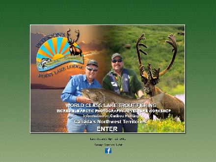 Peterson's Point Lake Lodge (867-920-4654) - Website thumbnail - http://www.petersonspointlake.com
