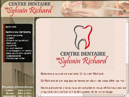 Clinique Dentaire Robert Rivard (450-774-4444) - Onglet de site Web - http://www.cliniquedentairerivard.com
