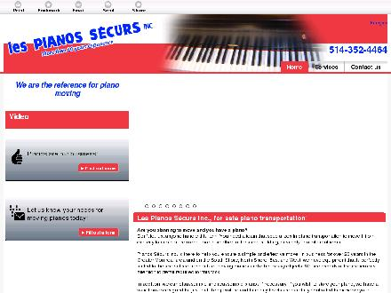 Pianos Securs (Les) (514-357-0253) - Onglet de site Web - http://www.demenagementpianossecurs.ca