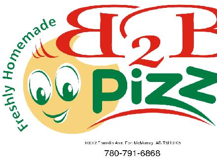 B2B Pizza (780-791-6868) - Website thumbnail - http://www.b2bpizza.com