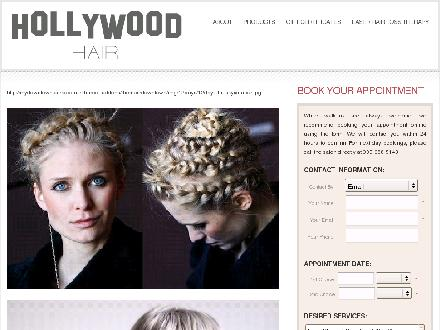 Hollywood Hair (905-688-5143) - Website thumbnail - http://www.hollywoodhair.ca