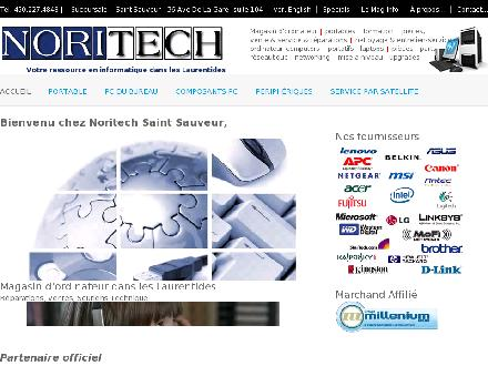 Noritech (450-227-4848) - Website thumbnail - http://www.noritech.ca