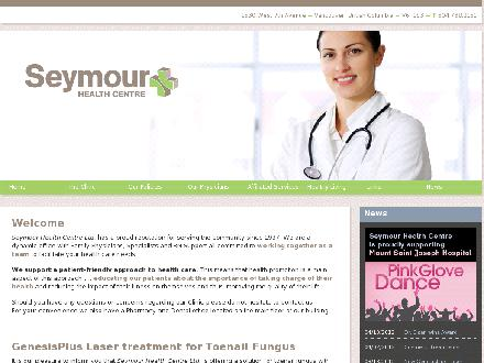 Seymour Health Centre (604-738-2151) - Onglet de site Web - http://www.seymourhealth.ca