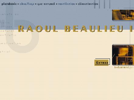 Raoul Beaulieu Inc (418-626-6642) - Website thumbnail - http://www.raoulbeaulieu.com