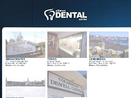 Alliance Dental (902-679-1449) - Onglet de site Web - http://www.AllianceDental.ca