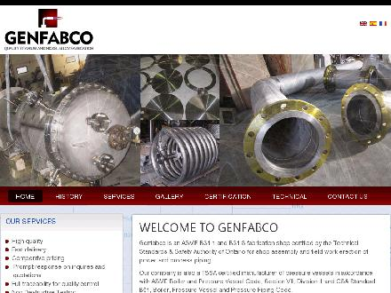 Genfabco Ltd (613-936-6521) - Website thumbnail - http://www.gfabco.com