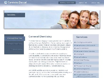 Carstairs Dental Centre (403-337-2332) - Website thumbnail - http://www.carstairsdental.com