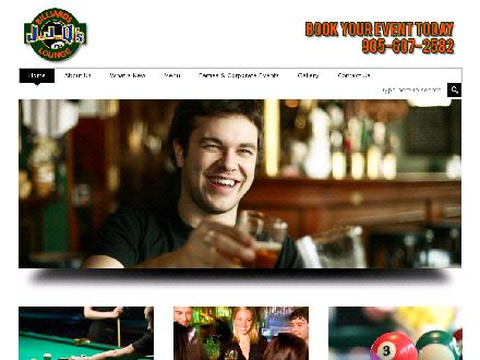 J J Q's Billiard & Bar (905-607-2582) - Website thumbnail - http://www.jjqs.ca