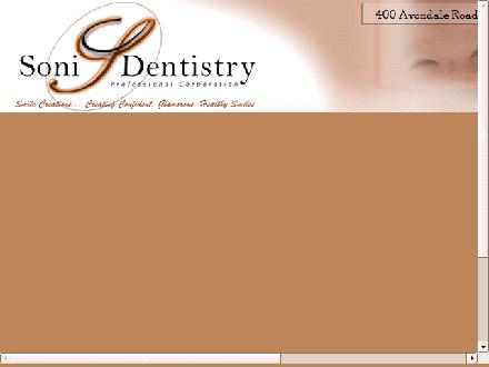 Soni Dentistry (519-453-5111) - Website thumbnail - http://www.smilecreations.ca
