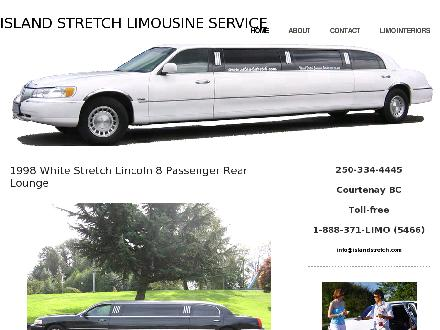 Island Stretch Limousine Service (250-334-4445) - Website thumbnail - http://www.islandstretch.com