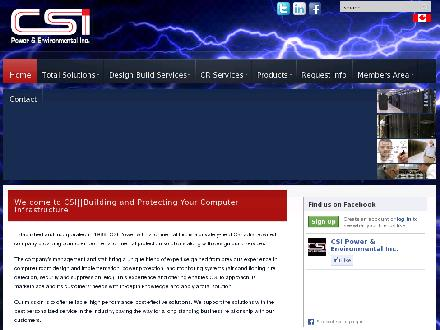 CSI Power & Environmental Inc (905-420-7031) - Website thumbnail - http://www.csipower.com