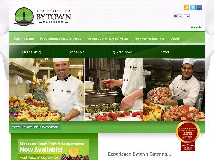 Bytown Catering (613-745-6389) - Onglet de site Web - http://www.bytowncatering.com