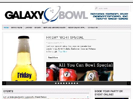 Galaxy Bowl Ltd (604-853-1366) - Website thumbnail - http://www.galaxybowl.ca