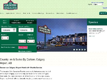 Country Inn & Suites By Carlson (403-250-1800) - Onglet de site Web - http://www.countryinns.com/calgaryab