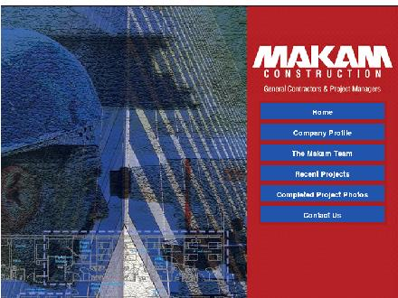 Makam Construction Ltd (604-299-6995) - Onglet de site Web - http://www.makam.ca