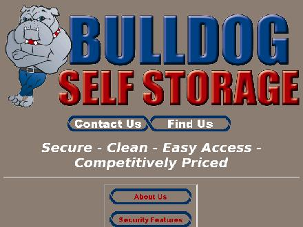 Bulldog Self Storage (204-336-8888) - Onglet de site Web - http://bulldogstorage.ca