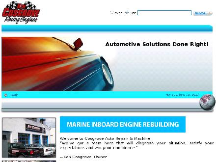 Cosgrove Auto Repair & Machine (905-227-2097) - Website thumbnail - http://www.cosgroveautorepair.ca/