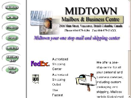 Midtown Mailbox & Business Centre (604-879-6184) - Website thumbnail - http://www.midtownmailbox.com