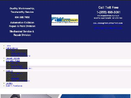 Taylormotive Service Ltd (604-990-5226) - Website thumbnail - http://www.taylormotive.com