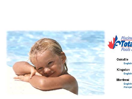 Total Tech Pool And Spa (905-825-1389) - Onglet de site Web - http://www.totaltechpools.com