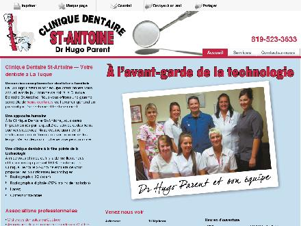 Clinique Dentaire St-Antoine (819-523-3633) - Website thumbnail - http://www.cliniquedentairestantoine.ca