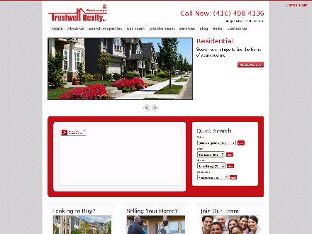 Trustwell Realty Inc (416-498-9995) - Website thumbnail - http://www.trustwellrealtyinc.com