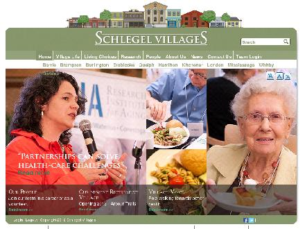 Taunton Mills The Village Of (905-666-3156) - Onglet de site Web - http://www.schlegelvillages.com