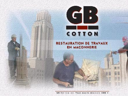 G & B Cotton Inc (514-276-9657) - Onglet de site Web - http://www.gbcotton.com