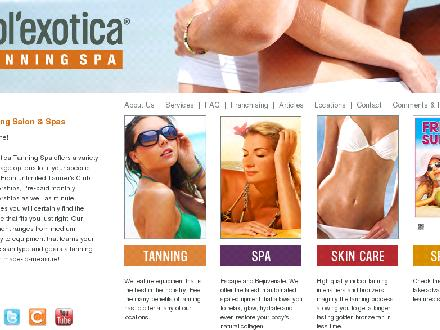 Sol'exotica Tanning Spa on Church (416-866-8266) - Onglet de site Web - http://www.solexotica.com