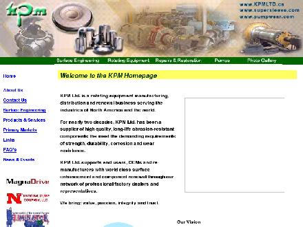Kamloops Precision Machining Ltd (250-828-8708) - Onglet de site Web - http://www.kpmltd.ca