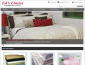 Ed's Linens (604-270-3318) - Website thumbnail - http://www.edslinens.com