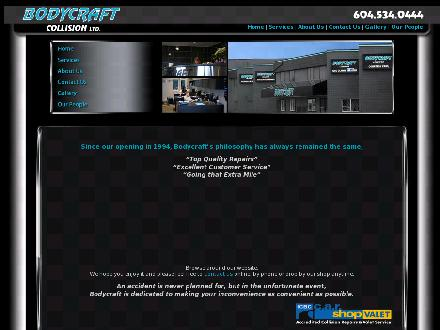Body Craft Collision (604-534-0444) - Website thumbnail - http://www.bodycraft.ca