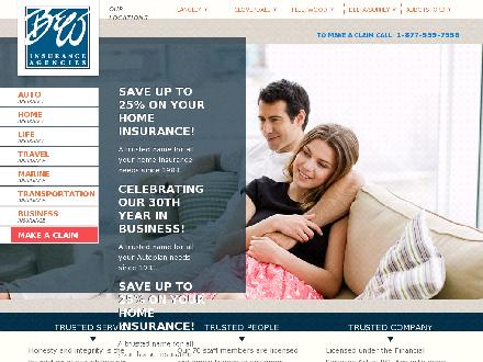 B & W Insurance Agencies (604-591-7891) - Website thumbnail - http://www.bwinsurance.com