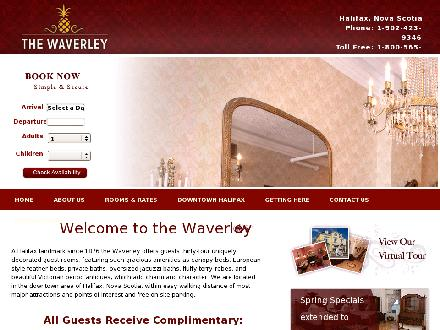 Waverley Inn (902-423-9346) - Website thumbnail - http://www.waverleyinn.com