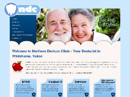 Northern Denture Clinic (867-668-6818) - Onglet de site Web - http://www.northerndentureclinic.ca
