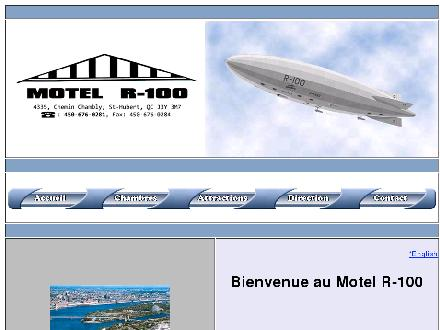 Motel R 100 (450-676-0281) - Onglet de site Web - http://www.motelr-100.com
