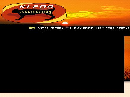 Kledo Construction Ltd (250-774-2501) - Onglet de site Web - http://www.kledo.ca