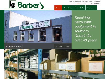 Barber's Restaurant Equipment Repairs (905-527-2525) - Website thumbnail - http://www.barbers.ca